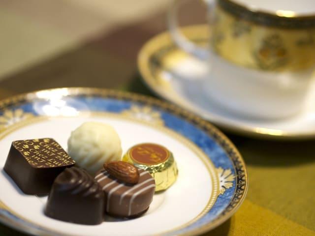 チョコレートとコーヒー合う