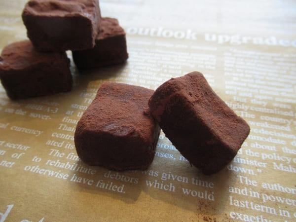 コーヒー入り生チョコ作り方