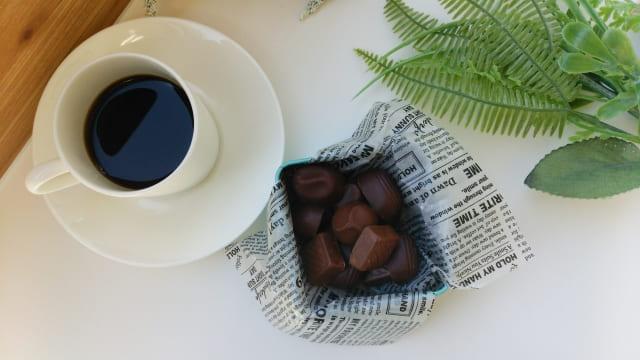 コーヒー チョコレート 入れる