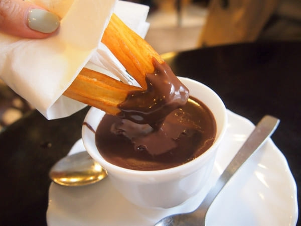 ホットチョコレート コーヒー