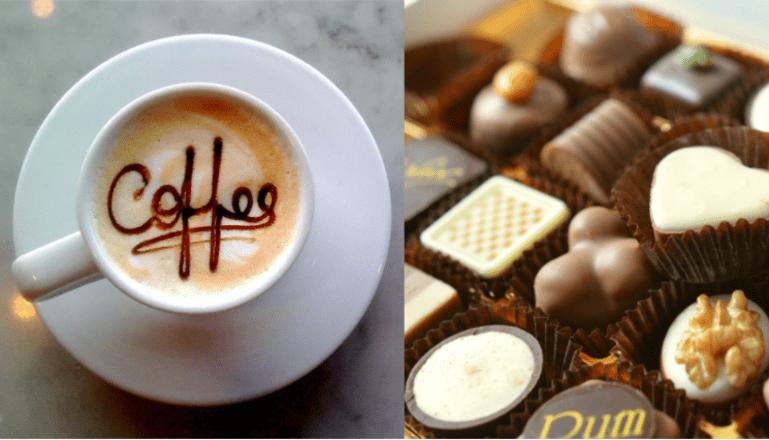 コーヒーとチョコレート