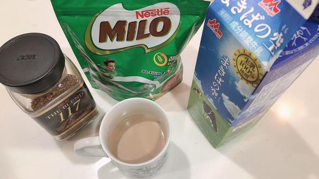 ミロ コーヒー 鉄分摂取