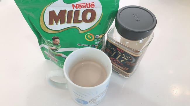 ミロコーヒー 味